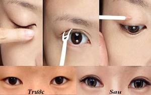 Cách làm mắt 2 mí rõ ràng đẹp không cần chỉnh