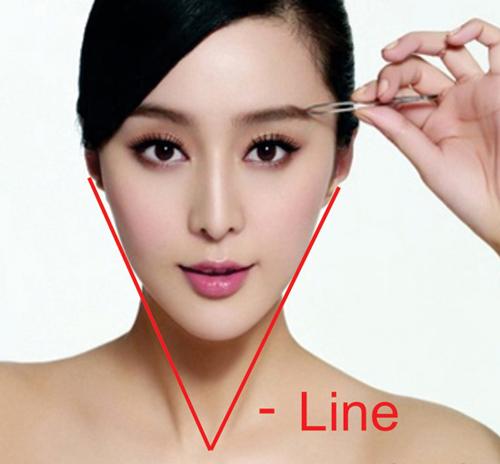 Sự khác nhau giữa thẩm mỹ mặt v-line và mặt trái xoan