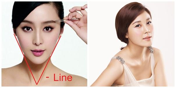 Tìm hiểu phương pháp tạo khuôn mặt v line đẹp