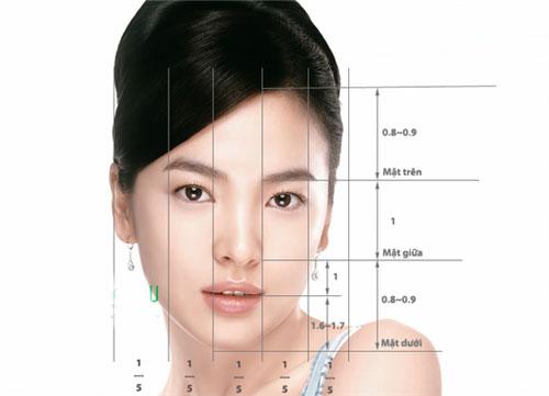 Gương mặt V-line với  đường nét thanh tú, tạo sự thu hút từ mọi góc nhìn